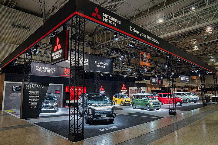 2020东京改装车展:Mitsubishi发表eK Space车系,Outlander与Eclipse Cross特式车