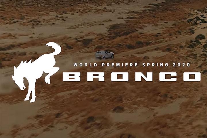 越野功夫了得!Ford释出新Bronco原型车测试影片