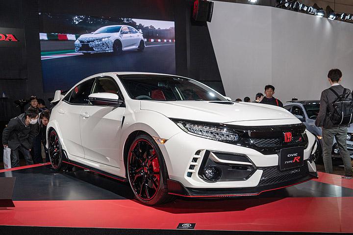 2020东京改装车展:小改Civic Type R现身,强化空力与性能,配备Honda Sensing