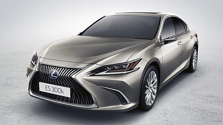2020日内瓦车展:欧规Lexus ES推出电子车外后视镜选配,台湾受限法规尚无法上路