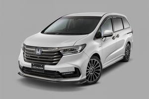 Mugen無限推出小改款Honda Odyssey簡易套件點綴
