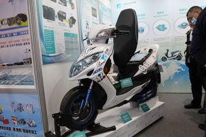 2021 Taipei AMPA:大型電動機車的基礎!工研院展演電池與馬達驅控模組