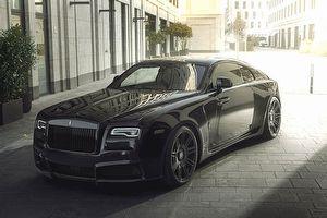 馬力717匹、限定3套,Spofec推出Rolls Royce小改款Wraith Black Badge Overdose改裝套件