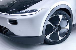 效率再提升,Bridgestone宣布供應太陽能車Lightyear One原廠配胎