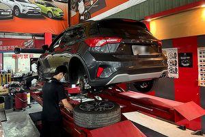 建議售價4,500元,SPR Racing寧豪企業上市Ford Focus Active後拖曳臂補強桿