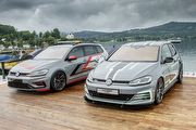 外觀內裝性能全數展示,Volkswagen Golf GTI Aurora與Estate FighteR亮相