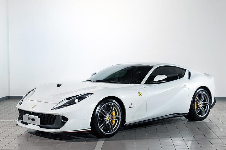收藏首選:與F1車手同行–2018 Ferrari 812 superfast
