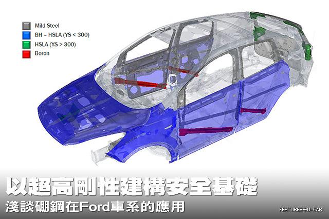 以超高剛性建構安全基礎─淺談硼鋼在Ford車系的應用
