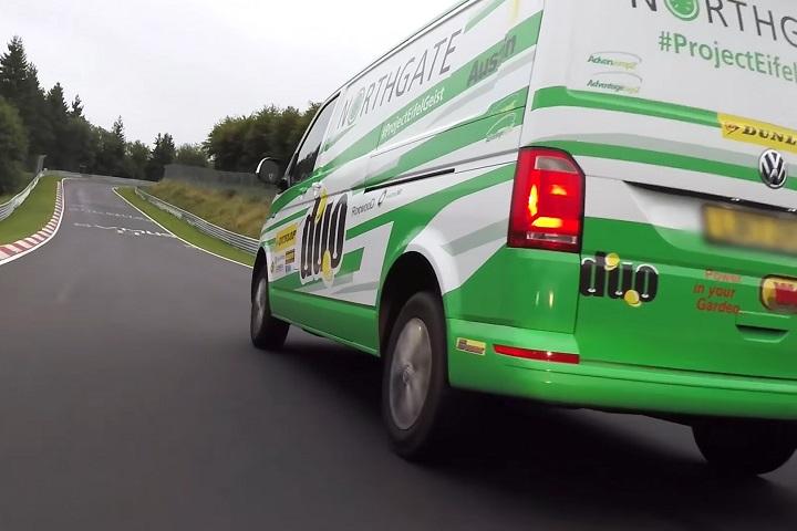 商用車也來跑賽道,Volkswagen Transporter創紐柏林商用車單圈紀錄