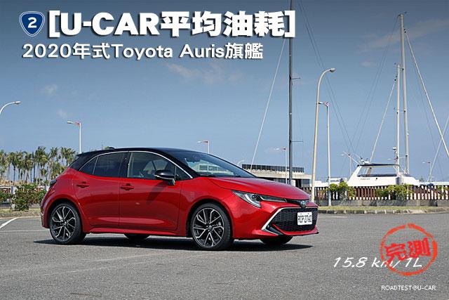 [U-CAR平均油耗]─新增全速域ACC與LTA,2020年式Toyota Auris旗艦實測