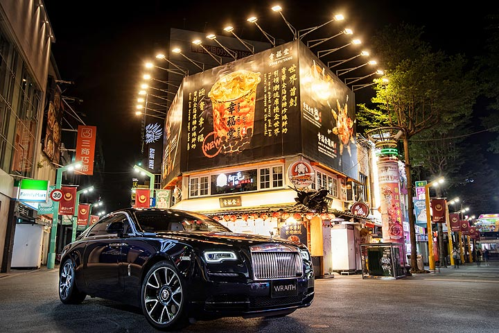 展現年輕化企圖、強調在地風格,Rolls-Royce總代理透過鏡頭展演Wraith與臺北之美