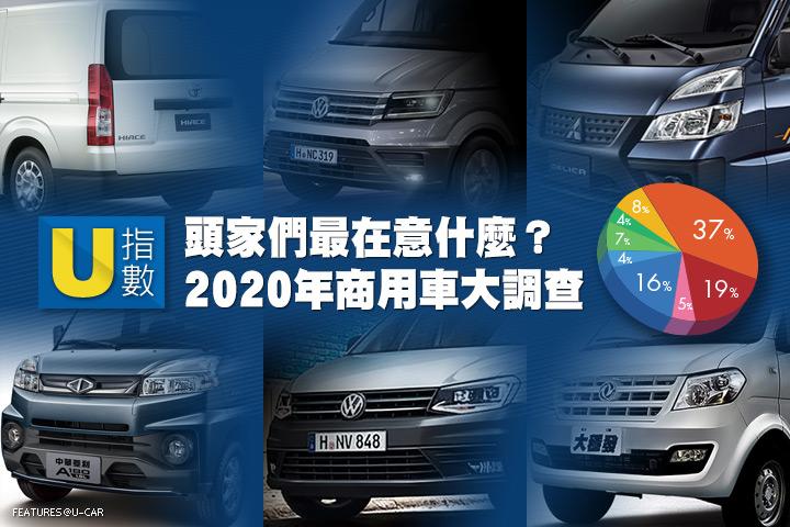 [U指數] 頭家們最在意甚麼?2020年商用車大調查