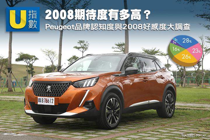 [U指數]知道Peugeot起源嗎?2008期待度有多高? Peugeot品牌認知度與2008好感度大調查