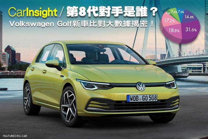 [CarInsight]第8代對手是誰?Volkswagen Golf新車比對大數據揭密!