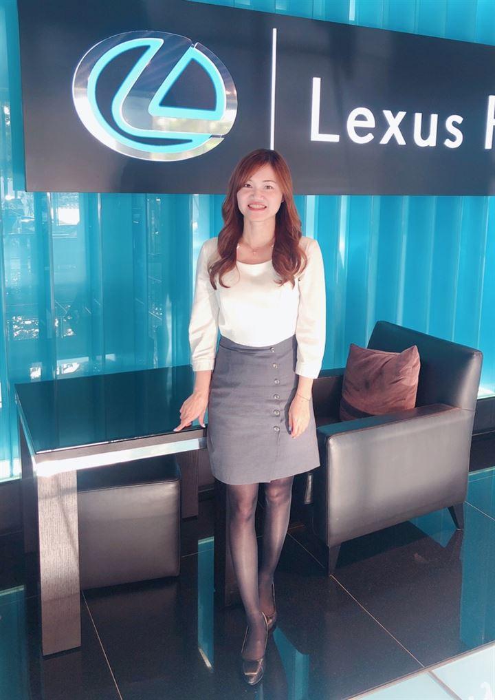 貼心服務2000位車主,協助大家享受用車生活─Lexus臺中所陳思婷