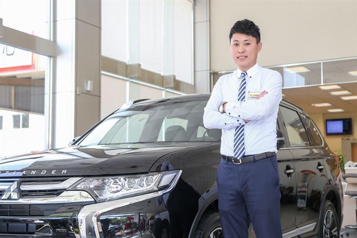 歷練成就不凡,好產品更需要好業代服務-Mitsubishi邱聖硯