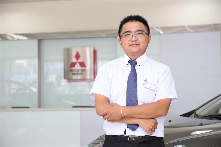 親切優質的在地服務-Mitsubishi盧昱仁