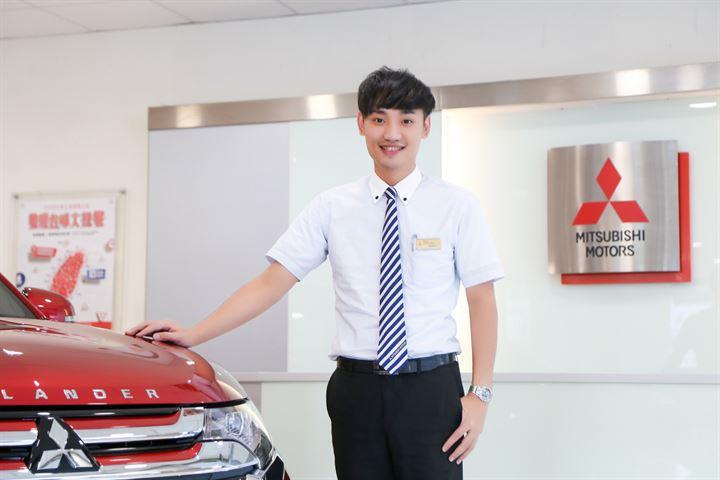 到金門領張大牌也是服務的日常-Mitsubishi匯豐三重營業所銷售經理林凱祥