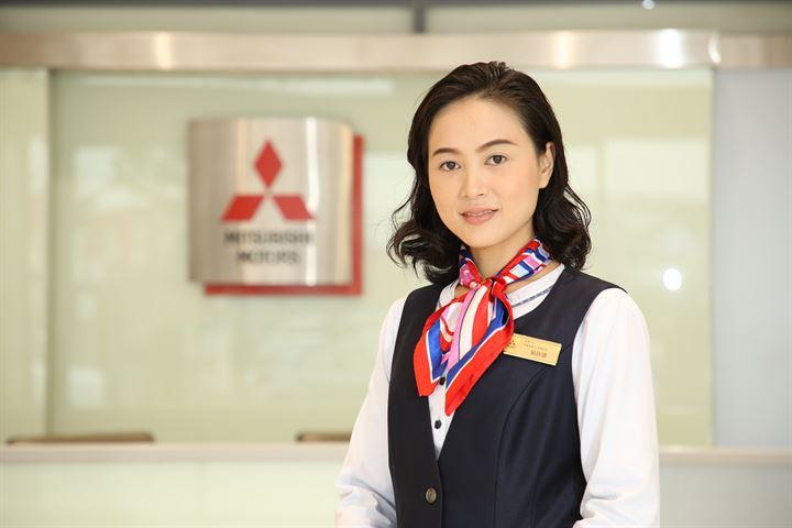 熱誠值得肯定,給客戶家人一般的暖心服務─Mitsubishi好業代吳詠婕