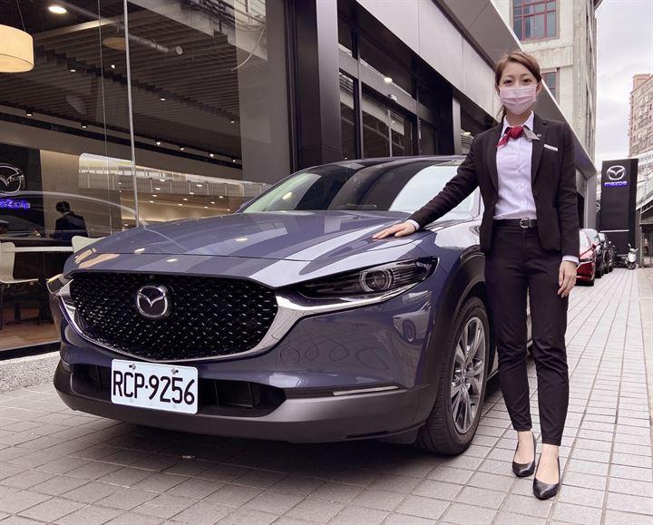 帶給您安心、細心、貼心服務的購車體驗─Mazda汽車好業代 李婉蕎