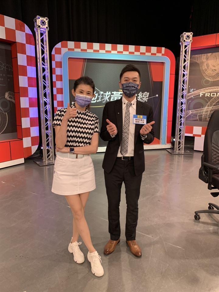 很感謝【TVBS地球黃金線】邀約玄璸上節目錄影📹