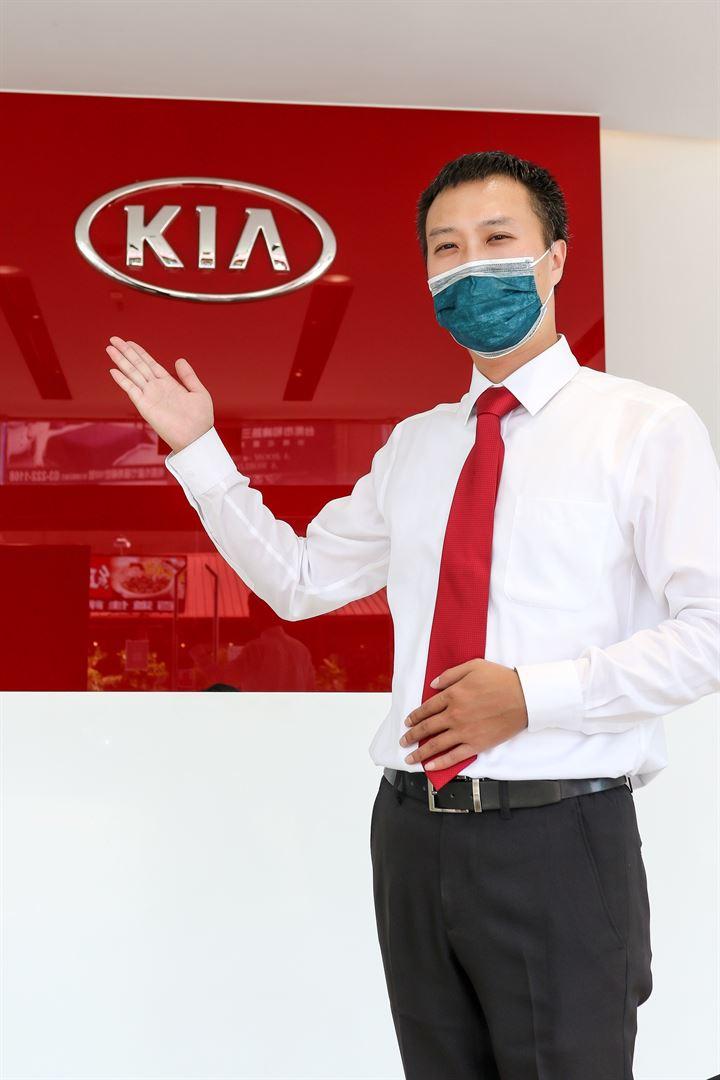 把客戶的車當作自己的愛車來服務-Kia桃園上賀汽車銷售顧問 郭展維