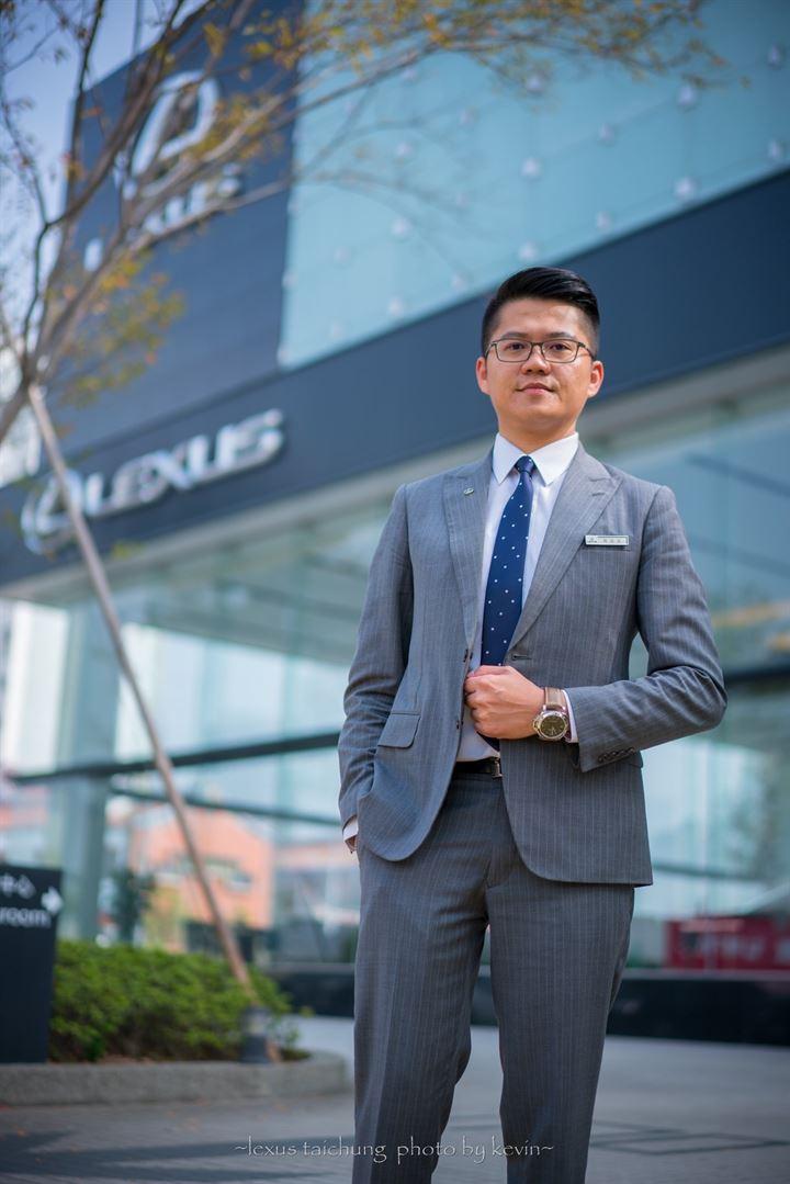 堅持成就夢想,帶來熱忱有溫度的價值與服務─Lexus汽車好業代 鍾逸德