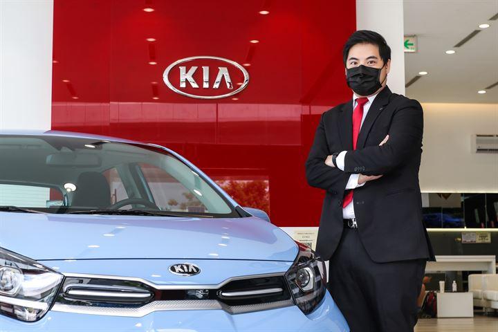 無論是否買車,都歡迎來交朋友 -Kia臺北北投直營展示中心 劉昱昕