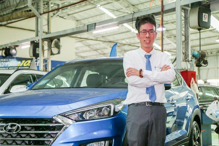 交車後才是開始,追求全方位的服務價值,我是Hyundai范文俊