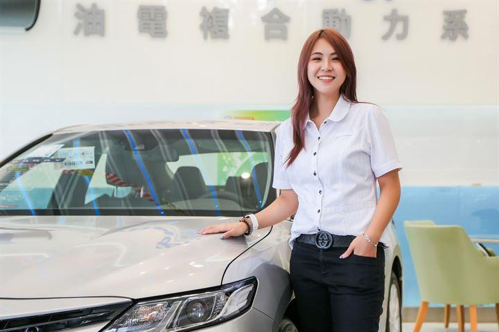 專業、誠信、活力,追求永續經營的銷售服務—北都汽車 八堵營業所 Toyota銷售顧問  周思妤